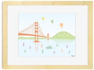Tomoko Maruyama - Golden Gate Bridge